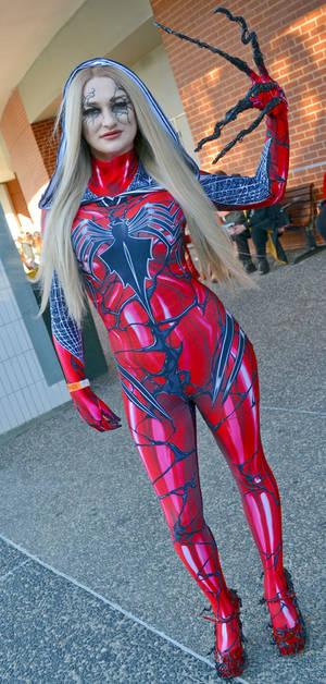 Spider Gwenom Cosplay at 2018 Sydney Supanova