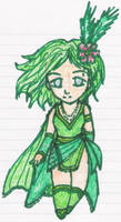 A Cute Rydia Sketch