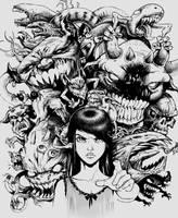 Nightmare princess by x-catman