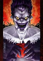 Death Note: Ryuk by x-catman