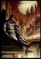 Batman by x-catman