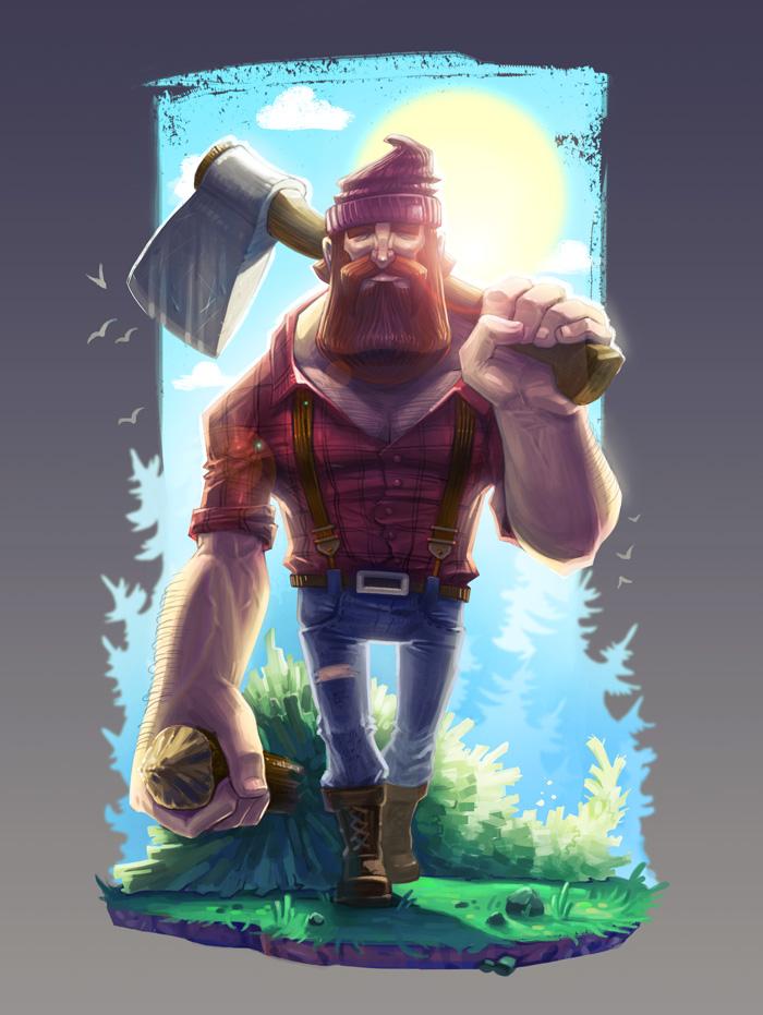 The Lumberjack by x-catman