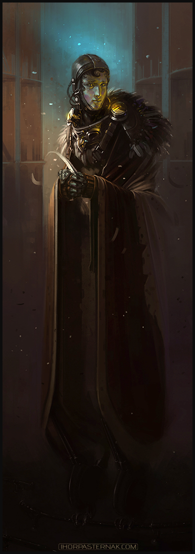 The Scribe by Caisne