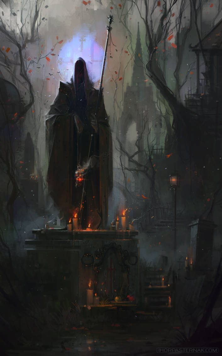 FIELD OF THORNS - SANCTUARY by Caisne