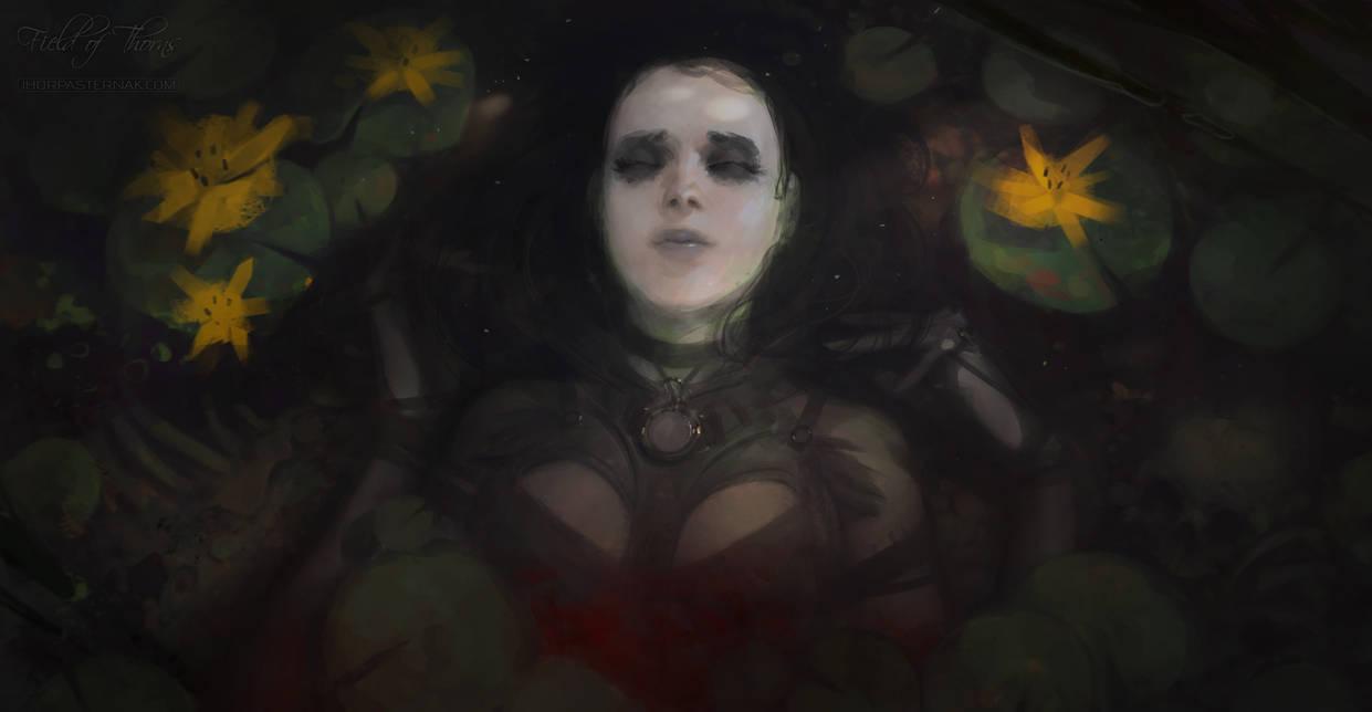 FIELD OF THORNS - SACRIFICE by Caisne