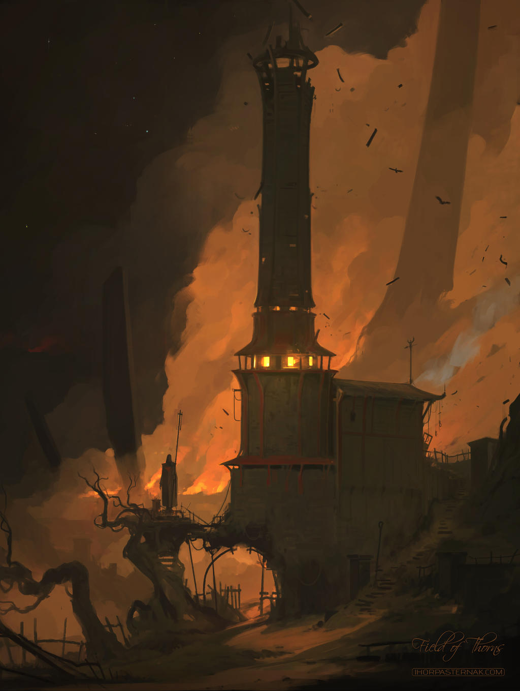 FIELD OF THORNS - LIGHTHOUSE by Caisne