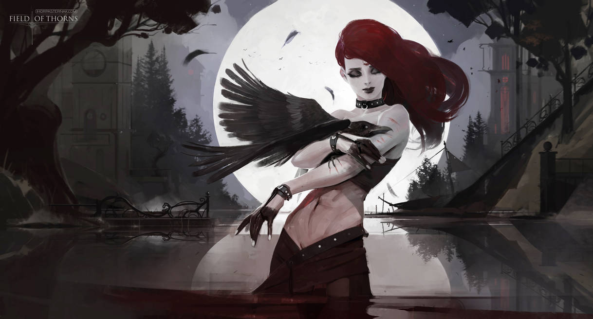 FIELD OF THORNS - BIRDY by Caisne