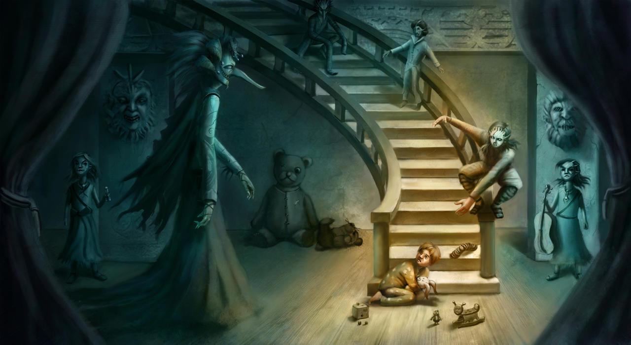 Nightmare Theatre: Act 1: Sandman of Slumberland by ArtByNath