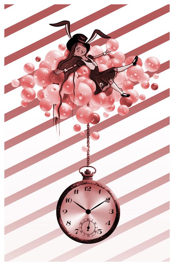 Alice in Bubble Tea World by ArtByNath