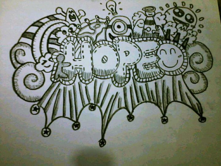 HOPE simple doodle by ShyLencerSimple Doodle Art Designs