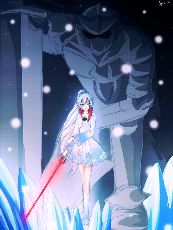 RWBY - Weiss Schnee by AyaNyu