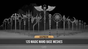 120 Magic Wand Basemeshes