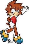 Sonic X Chris as a Hedgehog