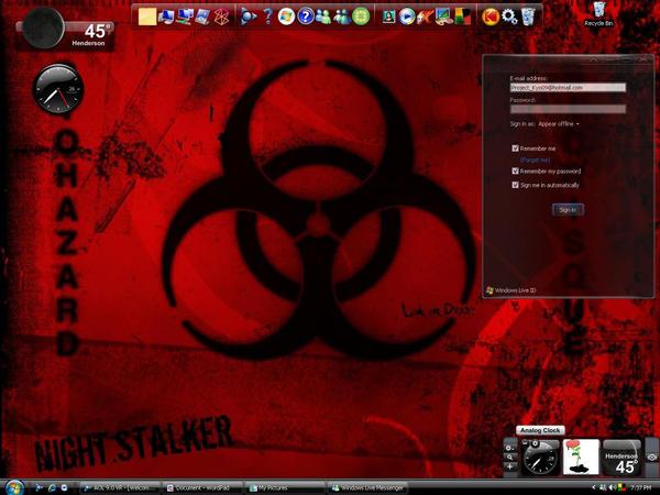 Newest Desktop Screenshot. by iKyo666