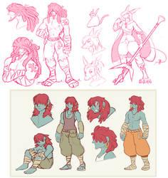 .:Freya/Amarant Sketchdump 4:.