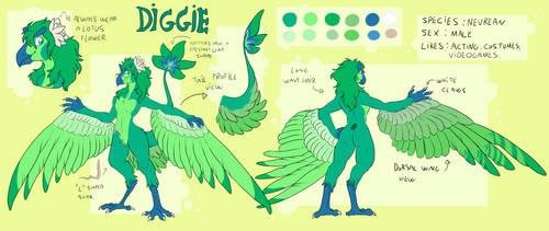 .:Diggie Ref Sheet:.