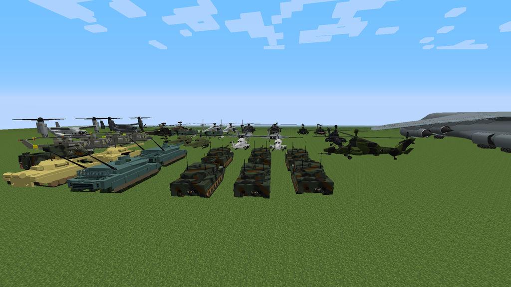 Мод танки для майнкрафт 1.7.2