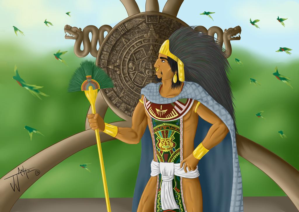 Moctezuma I - Guerra de Mitos by JJ-Anhiz