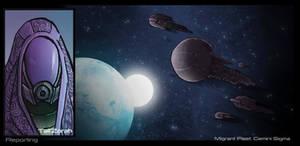 Mass Effect 3 collection Migrant Fleet