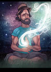 Powerful Duncan Trussell Family Hour poster by EskarArt