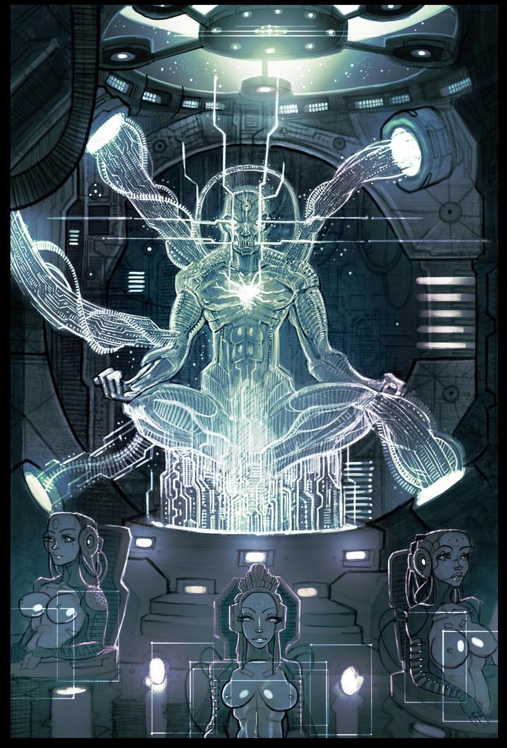 GhostRunner - Neural Hub by EvenSkarangerArt