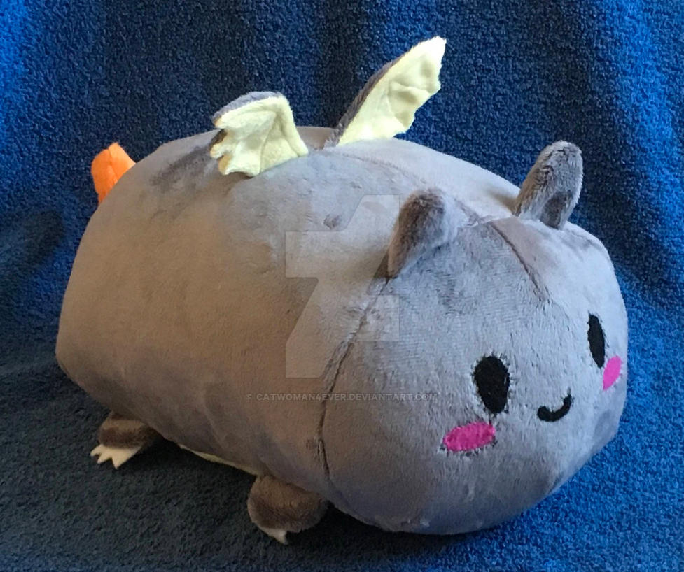 Dragon Roll / Loaf Plushie / Plush by CatWoman4ever