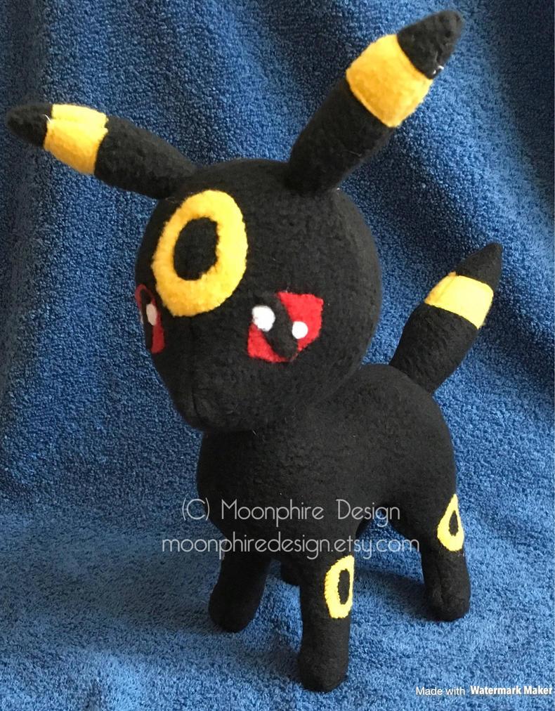 Pokemon Umbreon Plush Plushie by CatWoman4ever