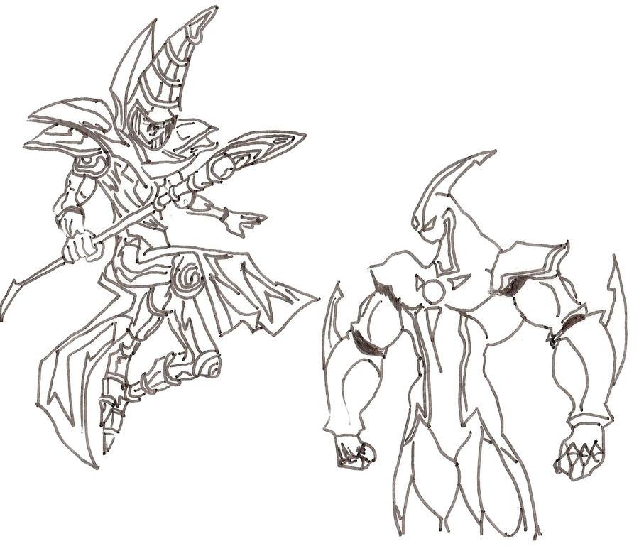 Elemental Hero Dark Neos: DarkMagicianElementalHeroNeos By Goldar24 On DeviantArt