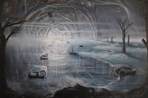 Dreams, oil painting FOR SALE 200 pounds