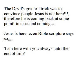 The Devil's greatest trick was to convince people by saveworld