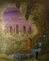 Mystical evening. by saveworld