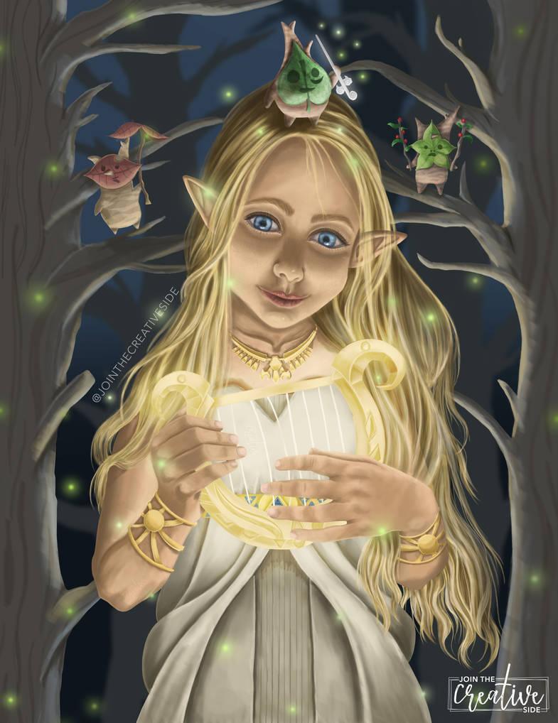 Legend of Zelda Breath of The Wild Fan Art by Jointhecreativeside