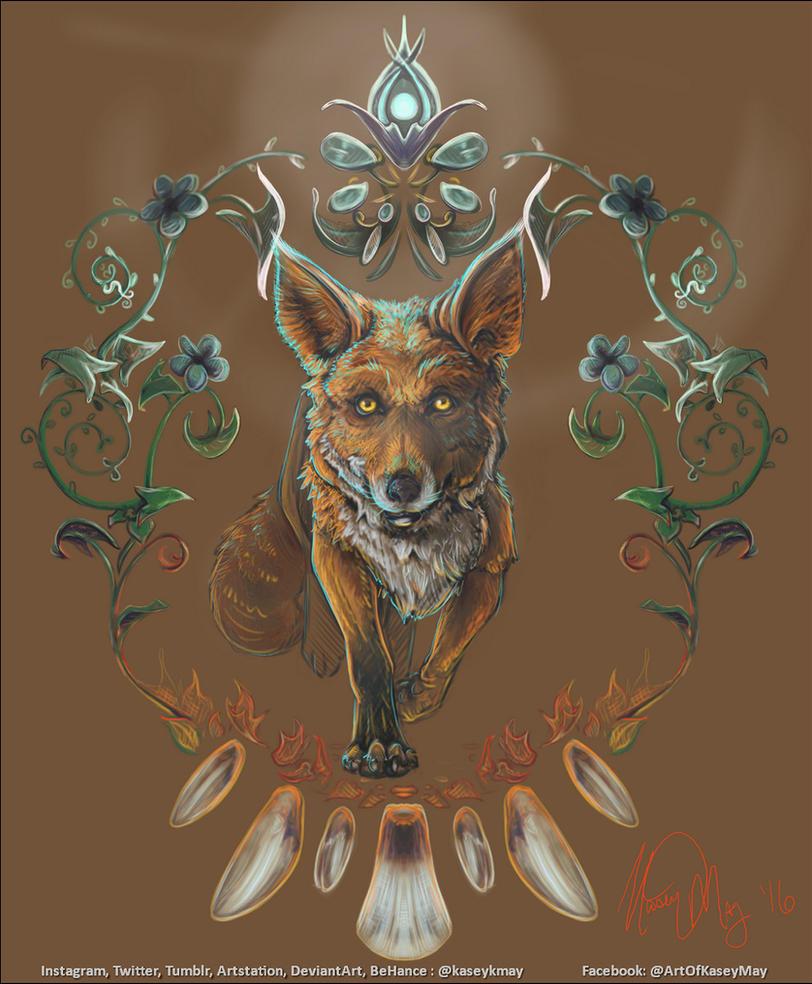 Fox Meditation by kaseykmay