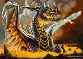 War Rift: Level 4: Dragon by kaseykmay