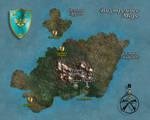 Isle of Kortos Map (Rus)