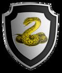 Alternative coat-of-arms of Aspis Consortium
