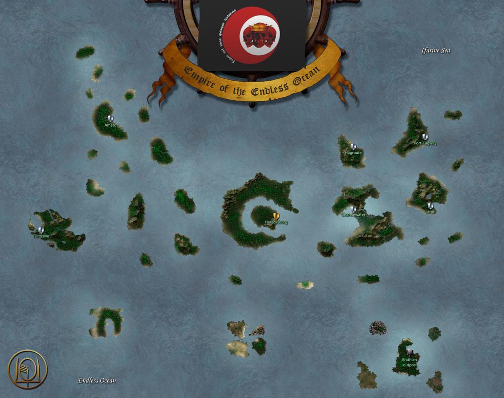 World of Enroth: Regnan Archipelago by MarkonPhoenix