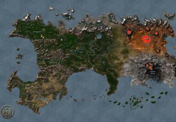 Continent of Jadame (MM8) by MarkonPhoenix