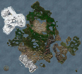 Continent of Antagarich (HoMM3/MM7) by MarkonPhoenix