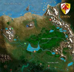 Brevoy map New by MarkonPhoenix