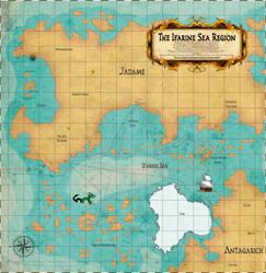 HotA: The Ifarine Sea Region map