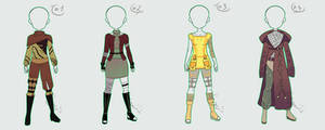 Outfit Adopt Auction Batch 6 [CLOSED] by sonisadopts