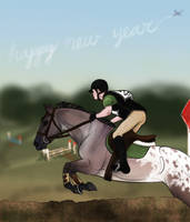 FWEC New Year Show - Bullet in XC by strixx-variaa