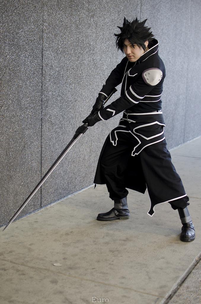 The Black Swordsman by Azieru