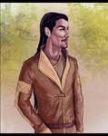 Akhtan's portrait. by Ktoya