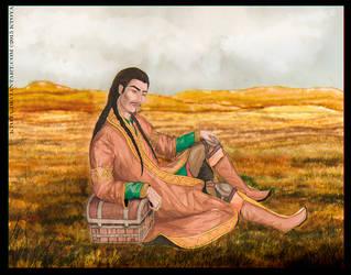 Golden Field by Ktoya
