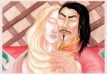 Her hairs like a golden threads by Ktoya