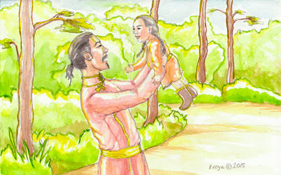 Childhood memory by Ktoya