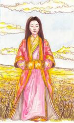 Golden Fields of Memory by Ktoya