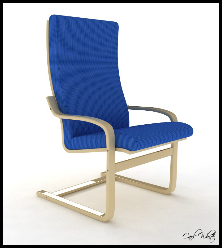 Poang armchair by carlwh123 on deviantart - Chairs similar to poang ...